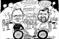 Caricature Gift for Automation Partnership