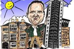 Caricature Gift of Architect