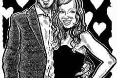 Caricature Gift of Daniel and Louise