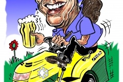 Caricature Gift of Tom Smith