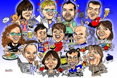 Caricature Group Corporate Gift