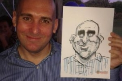 Live Caricatures at Parties