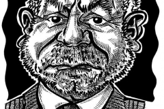 Caricature of Lord Alan Sugar