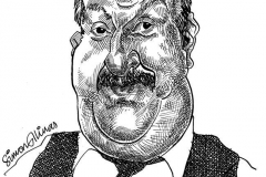 Caricature of Gorden Kaye