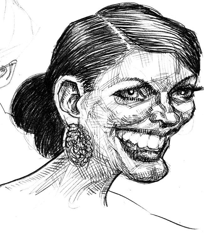 52 Best Sketches of famous people images | Art drawings ...