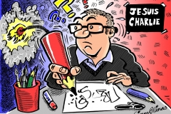 Topical Cartoon after Charlie Hebdo Attack