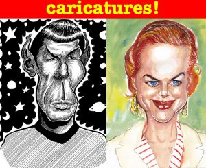 Caricatures Panel