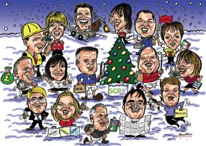 Colour Group Caricature Gift