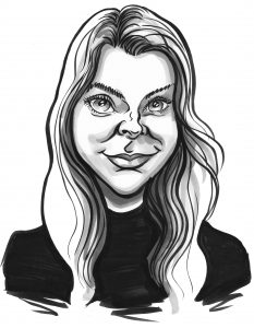 A4 Emailed Caricature Gift by caricaturist in London