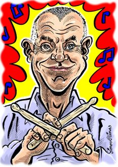 A4 Colour Digital Print Caricature Gift by caricaturist in London