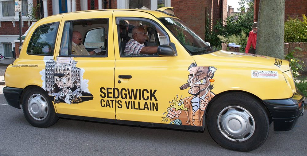 Cartoon Taxi Sedgwick