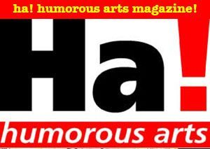 Ha! Humorous Arts Cartoons Magazine Panel