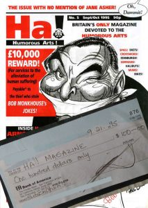 Topical Cartoons and Satire Magazines Cheque