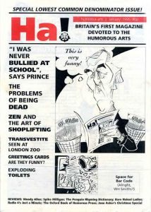 Topical cartoons and Satire Magazines Ha 2