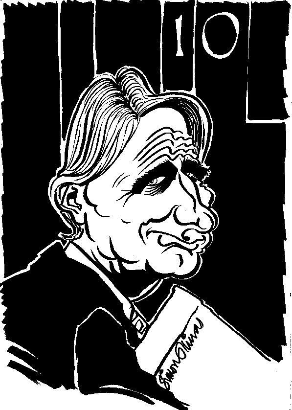 Conservative Party Conference Philip Hammond Caricature