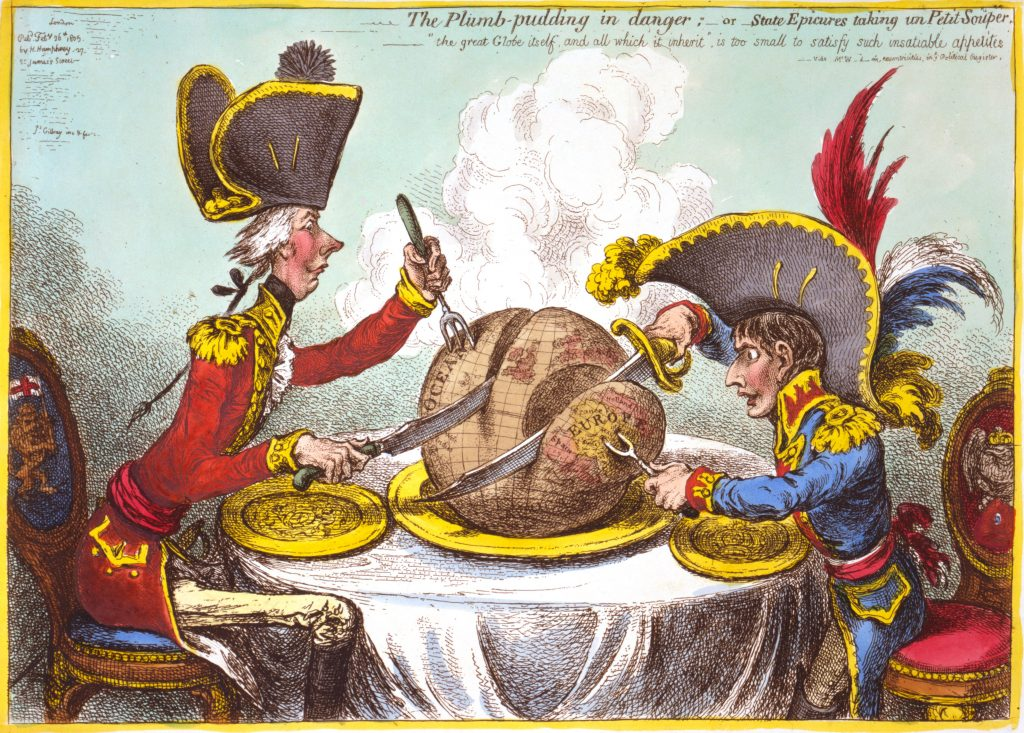 Topical Cartoons and Satire Magazines Gillray