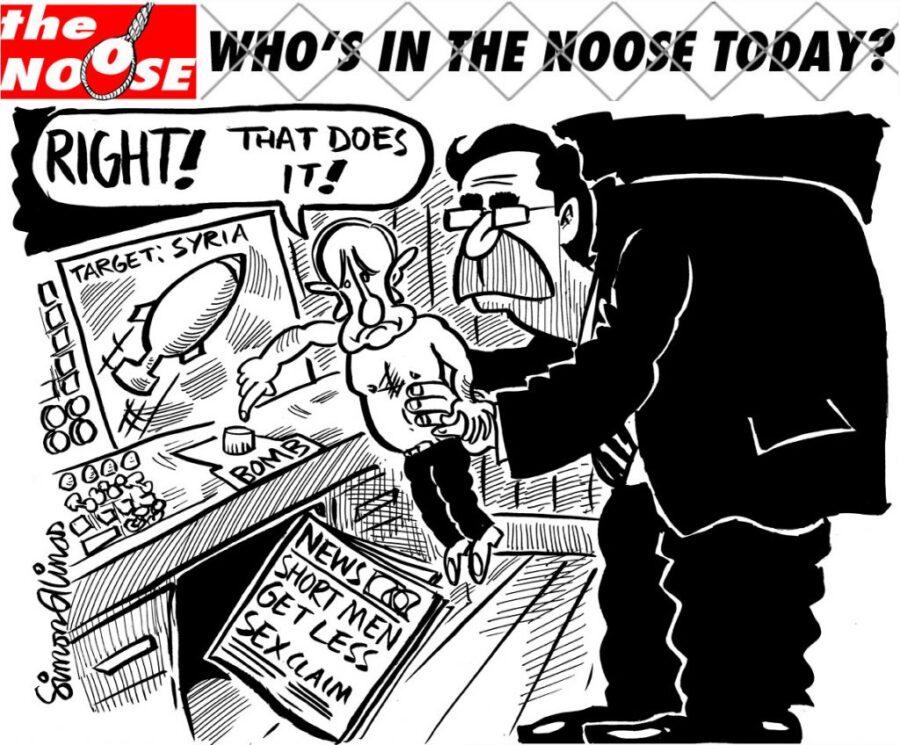 Topical Satire Cartoon Vladimir Putin