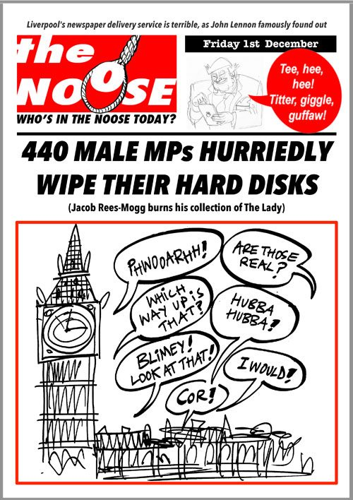 Topical Satire Damian Green Pornography Scandal Westminster