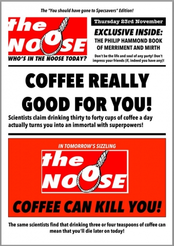 Topical Satire Philip Hammond The Budget Coffee