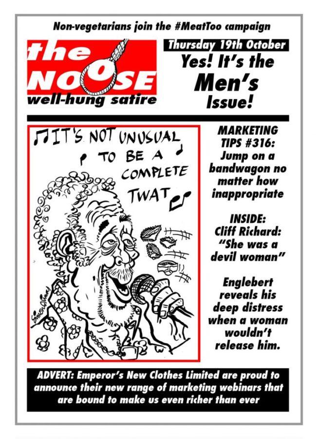 Topical Satire Tom Jones Sexual Harassment