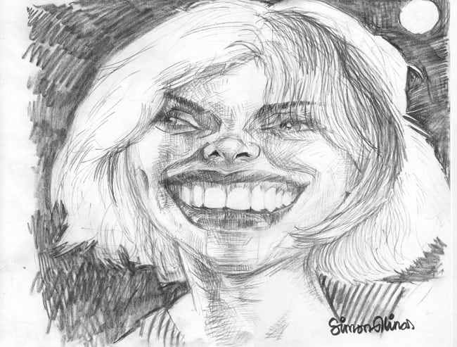 Pencil Sketch Caricatures of famous people, celebrities and
