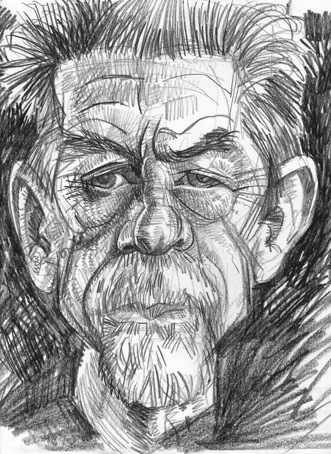 Pencil Sketch Caricatures of famous people, celebrities and politicans