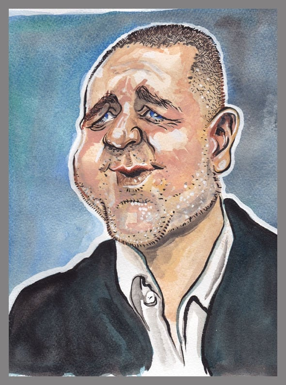 Caricatures Of Celebrities And Famous People By Cartoonist