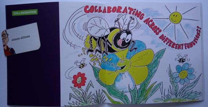 Conference cartoons published in Booklet for Cartoonist and Caricaturist in London