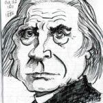 Caricature of Franz Liszt