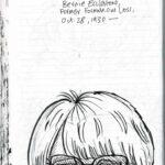 Caricature of Bernie Ecclestone